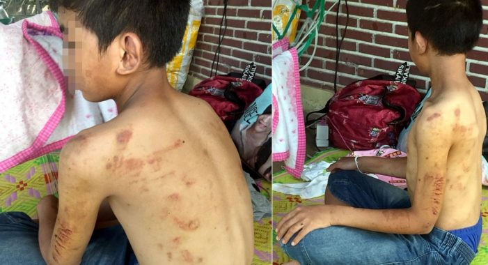 14 Year-Old Boy Peddles his Bike Over 40 Kilometers to Flee Beatings, is Reunited with Mother