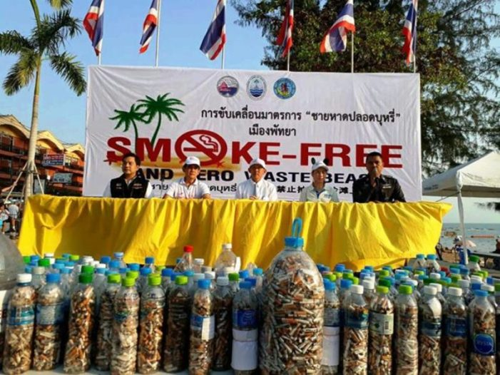 Thailand's Public Health Warns, Anyone Caught Smoking Within 5 Meters of a No Smoking Sign Face 5,000 Baht Fine