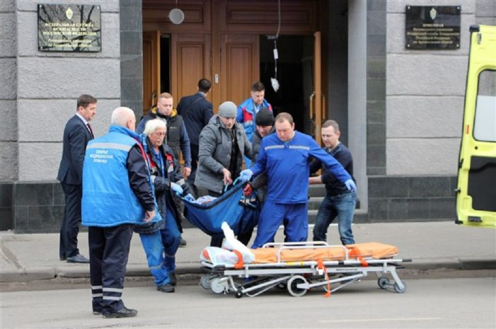 17 Year-Old Russian Teen Blows Himself Up Inside Russia's Federal Security Service Building