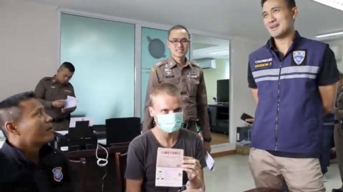 Russian Man Arrested in Pattaya for Alleged Luring of a 10 Year-Old Girl