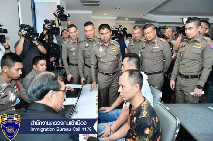 Chinese Men and Thai Accomplices Busted in Bt23 Million Credit Card Scam