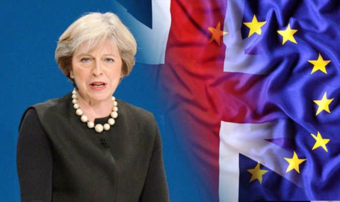 British Prime Minister Theresa May Announces Brexit Deal with European Union