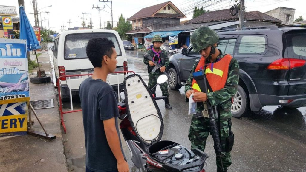 State of Emergency Extended for Thailand's Southern Provinces of Yala, Pattani and Narathiwat