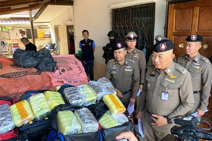 Northern Thailand Truck Driver Arrested in Drug Sting Operation, 700,000 Methamphetamine Pills Seized