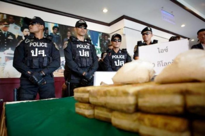 Police in Northern Thailand Seize Mass Quantity of Speed Pills in Three Drug Busts