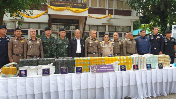 Three Hmong Hill-Tribes Men from Chiang Rai Arrested for transporting 2.1 Million Methamphetamine Pills