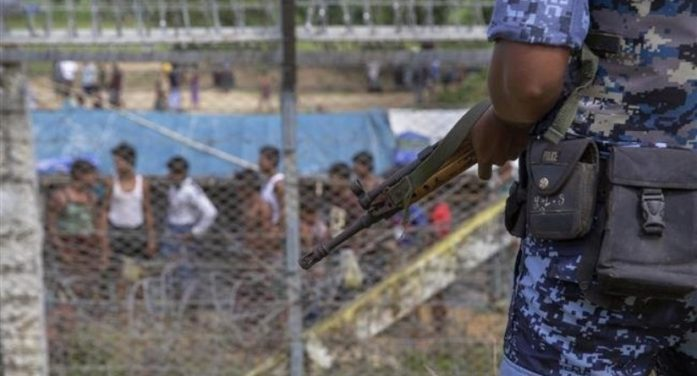 Police in Myanmar Shoot and Wound Four Rohingya Muslims