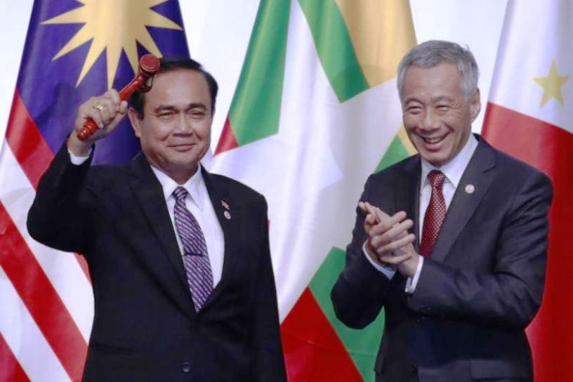 Singapore Hands Over ASEAN Chairmanship to Thailand