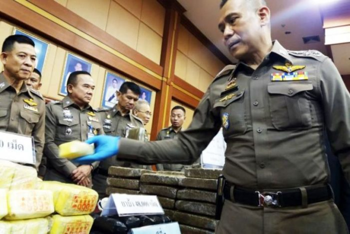Commander of Northern Thailand's Drug Force Says Taiwanese Chemists Responsible for Meth Flooding into Mekong Region