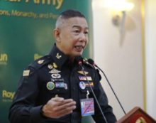 Thailand's Top General Vows Clean Up of Internal Security Operations Command