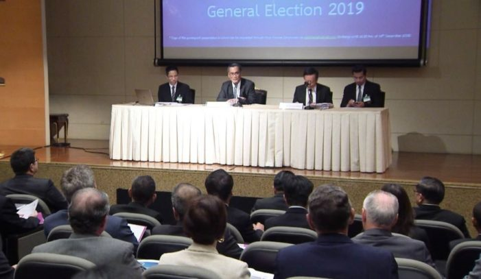Thailand-Based Foreign Diplomats Briefed on Upcoming General Election