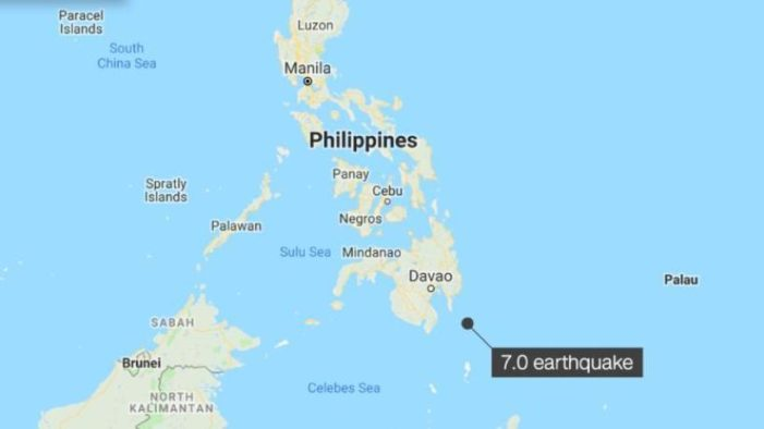 Powerful Earthquake in Southern Philippines Prompts Panic, Tsunami Warning