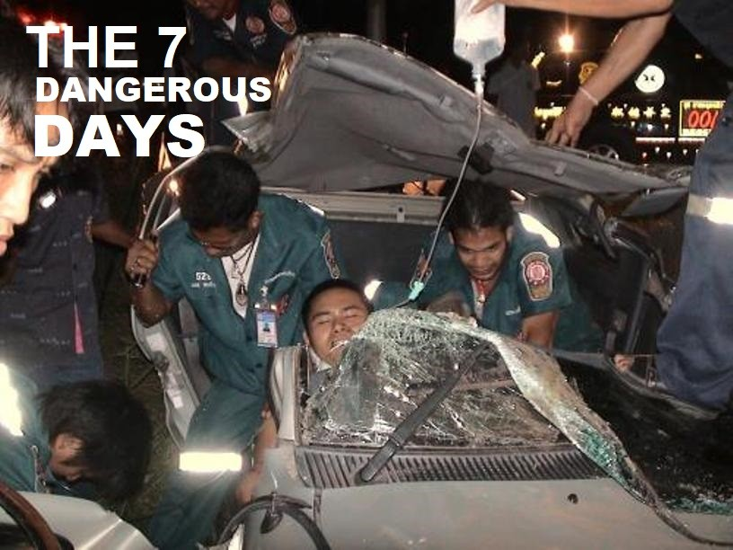 Thailand's Road Safety Directing Centre Reports 42, Killed, 423 Injured on the First Day of New Years Holiday
