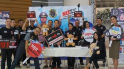 Police With Thailand Internet Crime Against Children (TICAC) Division Teach Children to Avoid Online Predators