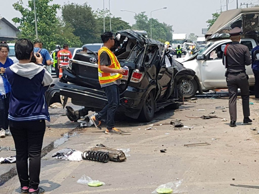 road, death,Thailand's New Year Holiday Claims 392 Lives in Road Accidents