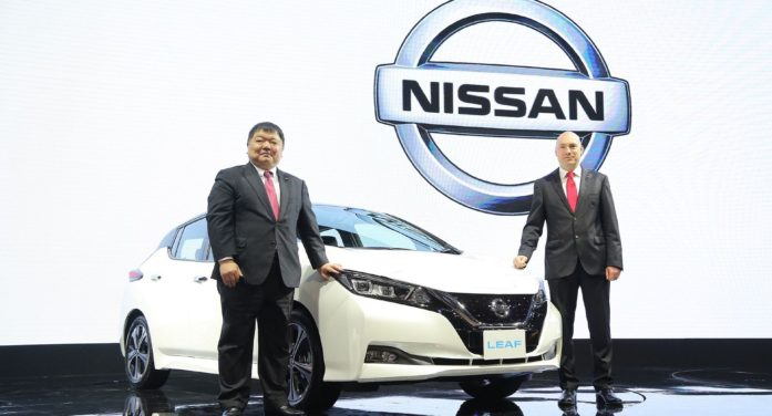 Nissan Launches Flagship EV Car the LEAF in Thailand