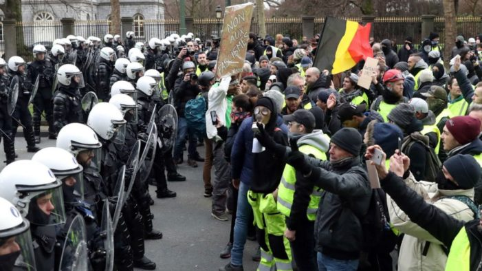 France's Yellow Vest Protests Spill Over into Belgium