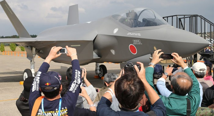 Japan to Increase Order of F-35 Fighter Jets in Response to China's Buildup in Pacific
