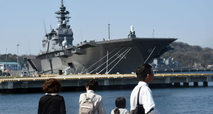 Japan Unveils Plan to Constructs Two F35B Aircraft Carriers
