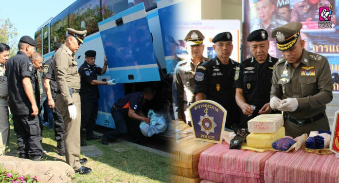 Chiang Rai Police Find Nearly Three Million Meth Pills Hidden Aboard Chiang Rai-Bangkok Bus
