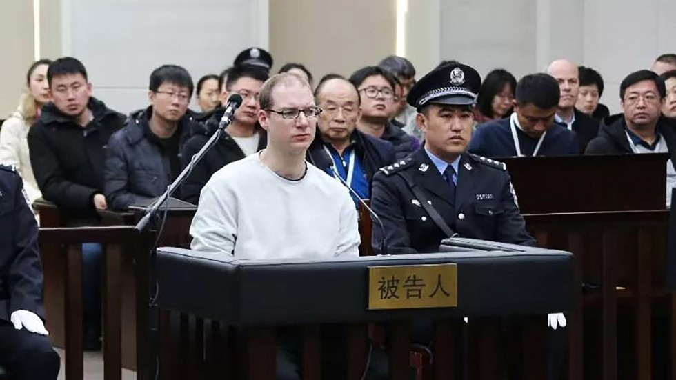 Chinese Court Sentences Canadian Death While Huawei's Top Executive Held in Canada