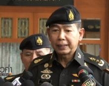 "Thailand's Army Chief Warns Pro-Election Activists – ""Don't Cross the Line"""