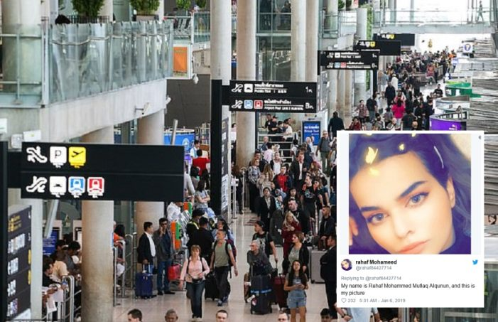 Saudi Teen Detained at Bangkok Airport Says She Fears Death if Repatriated