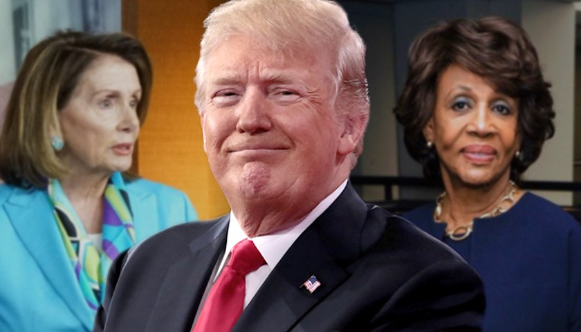 Trump: Nancy Pelosi, Maxine Waters Are the 'Unhinged Face' of Democratic Party