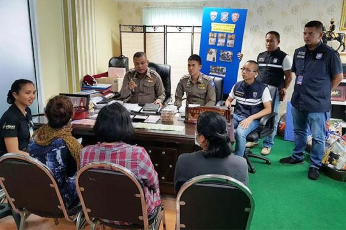 Three Filipino Women Arrested in Pattaya for Soliciting Donations for Fake Charity