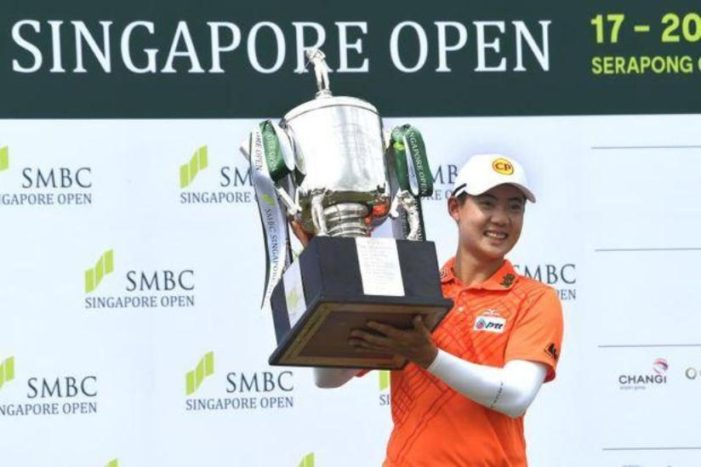 Thailand's Jazz Janewattananond Wins Singapore Open