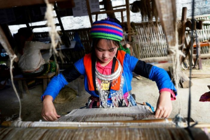 """Weaving Rehab """"One Stitch at a Time"""" for Vietnam Trafficking Victims"""