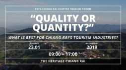 "PATA Chiang Rai to Host ""Quality or Quantity"" What is Best for Chiang Rai's Tourism Industries"