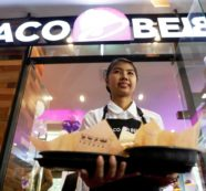 U.S. Fast Food Giant Taco Bell Opens it's First Outlet in Bangkok