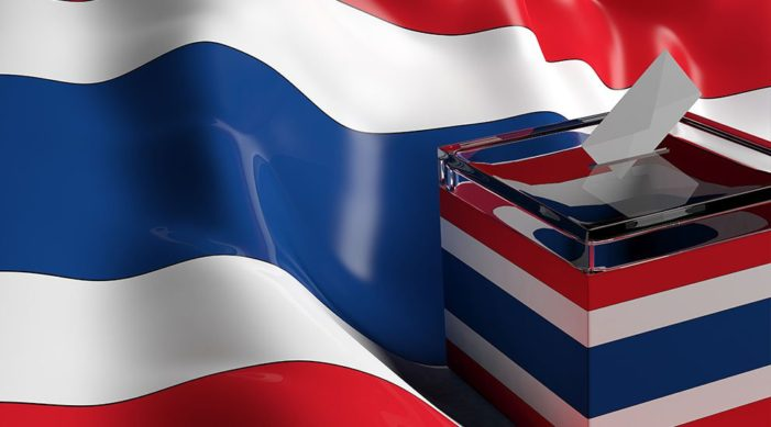 It's Official Thailand's General Election Will Be Held on Mach 24, 2019