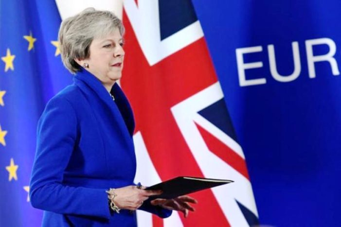 British Law Makers Reject Theresa May's Brexit Deal, Triggering a No-Confidence Vote