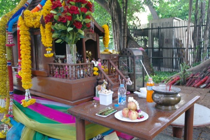 Spirit Houses in Thailand Protecting and Watching Over Inhabitants