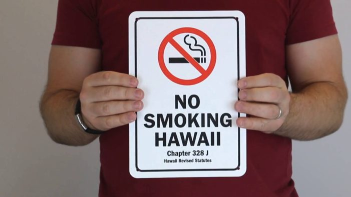 Democrat Lawmakers in Hawaii Look to Raise Legal Smoking Age to 100 Year-Old