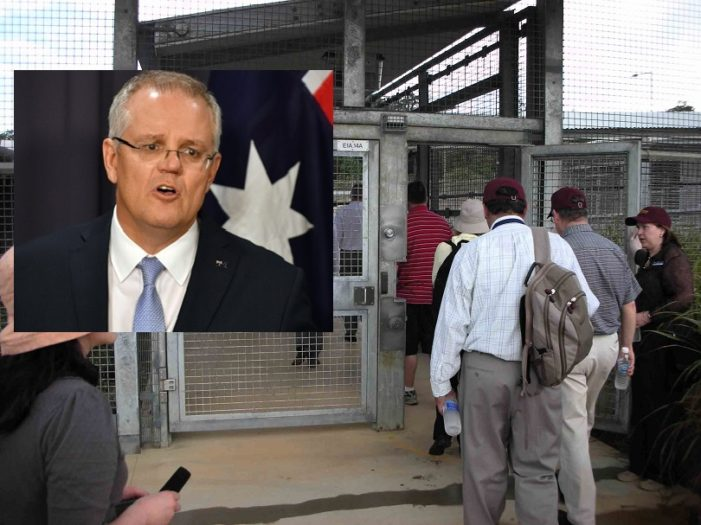 Australia Doesn't Need a Wall it Has Islands for Asylum Seekers, Australia to Reopen Island Detention Center
