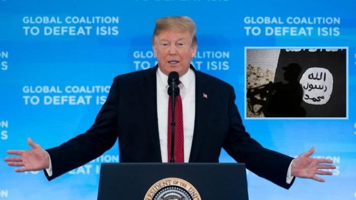 US President Trump Calls on Allies to Take Back 800 Captured ISIS Fighters