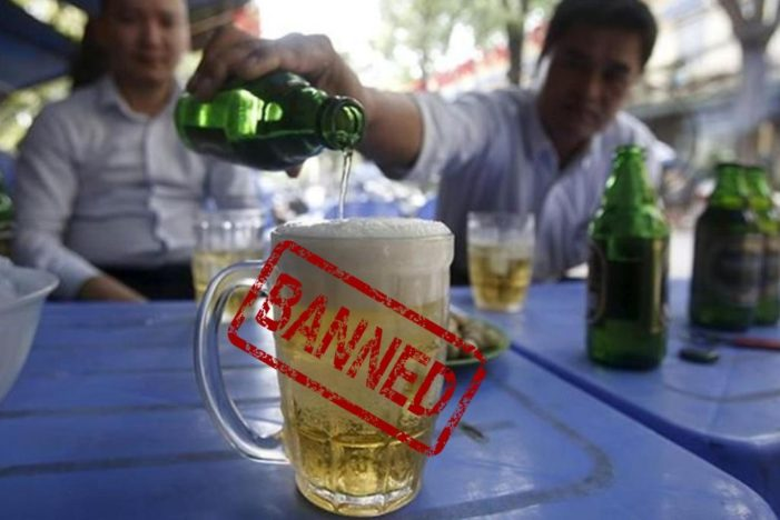 "Alcohol Ban Proposed for the Thai New Year ""Songkran"""