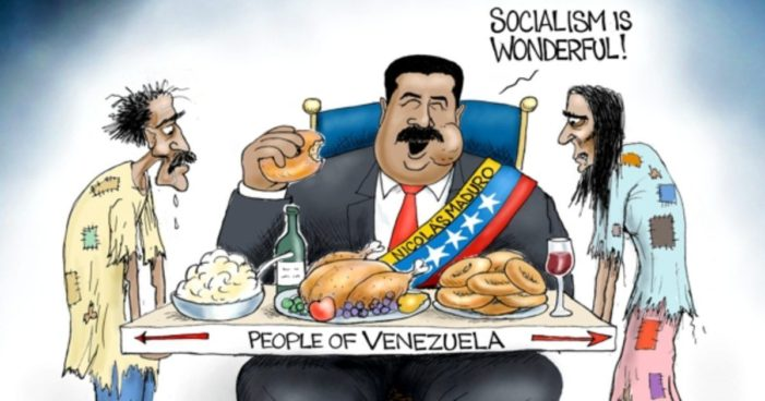 Venezuela's Dictator Nicolas Maduro Uses Military to Repel International Aid From His Own People