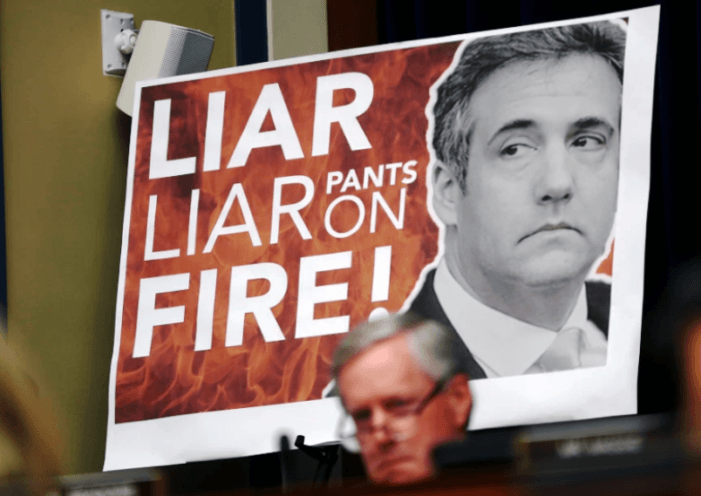 Disgraced Lawyer Michael Cohen Tries to Smear Trump During his Congressional Testimony