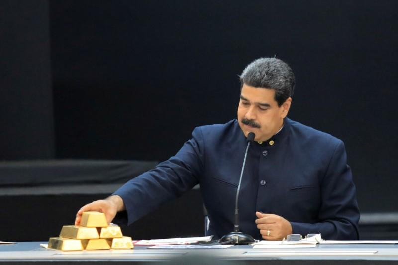 Venezuelan Dictator Maduro Removes Tons of Gold from Venezuelan Central Vank's Vaults