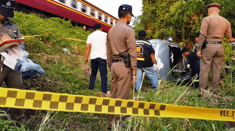 Husband, Wife Killed After Their Pickup Collides With Express Train