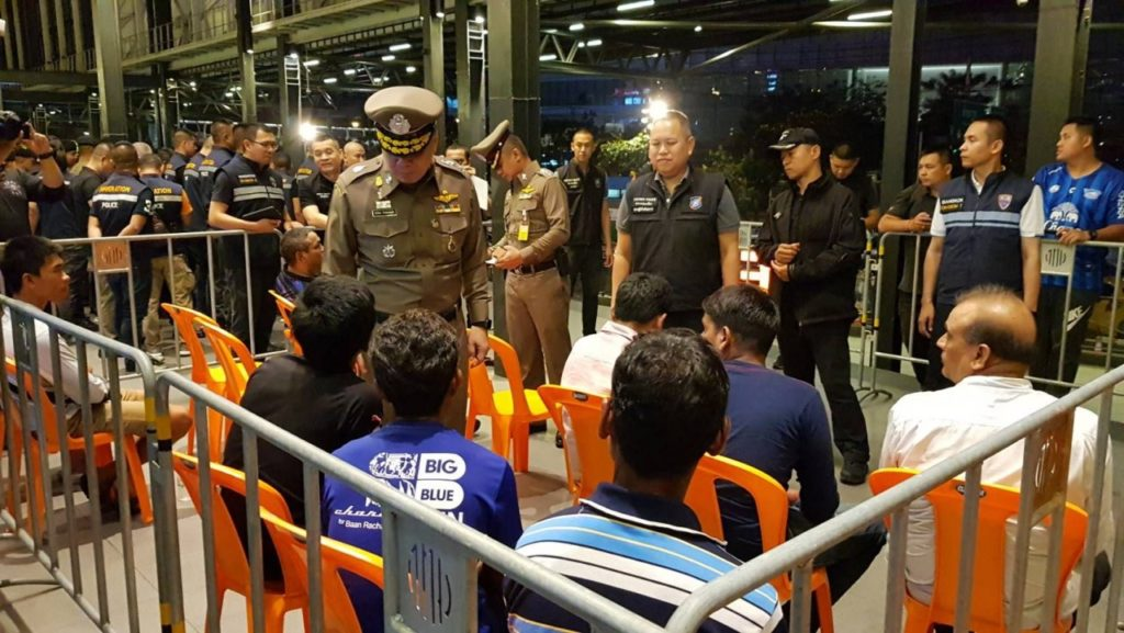 490 Foreigners Detained in Latest Operation Outlaw Foreigner Sweep in Thailand