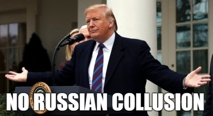 """Mueller Report Finds """"No Evidence of Russian Collusion"""" By President Trump"""