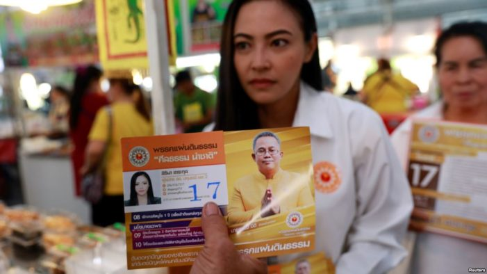 Thailand's Pandin Dharma Party Says Buddhism is Under Threat