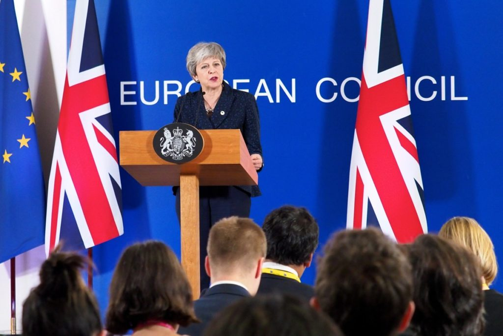 British Prime Minister Theresa May Vows to Step Down if Brexit Deal is Passed in Parliament