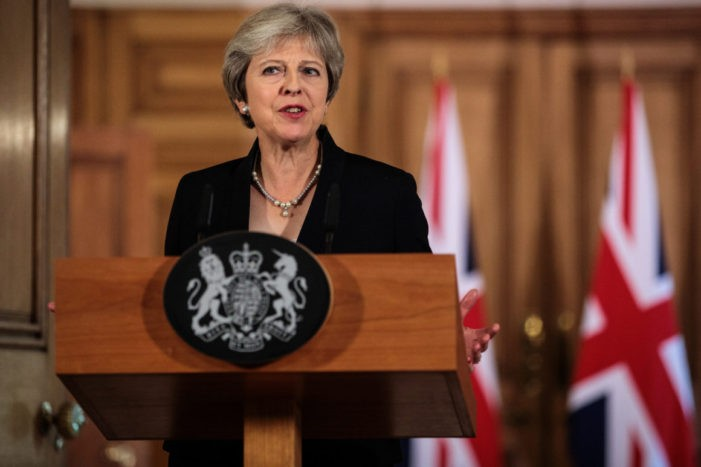 Prime Minister Warns Brexit May Never Happen Unless Her Deal Approved