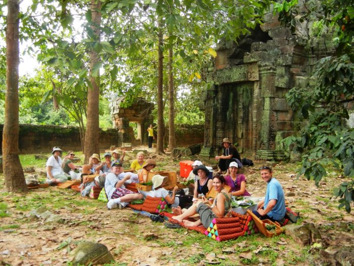 Cambodia's Tourism Authority Bans Food Inside World Heritage Temple Angkor Wat